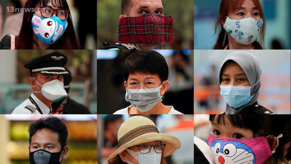 Коронавирус? Как модники носят медицинские маски