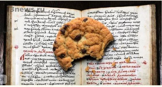 В рукописи Тюдора XVI века найдено недоеденное печенье